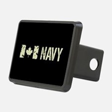 Canadian Flag: Navy Hitch Cover
