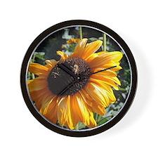 Sunflower3 Wall Clock