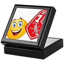 sports emoji Keepsake Box