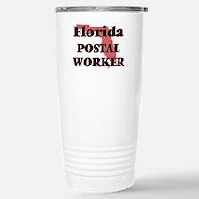 Florida Postal Worker Stainless Steel Travel Mug