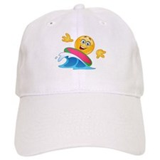 surfing emoji Baseball Baseball Cap