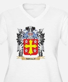 Scully Coat of Arms - Family Cre Plus Size T-Shirt