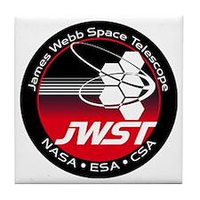 JSWT NASA Program Logo Tile Coaster