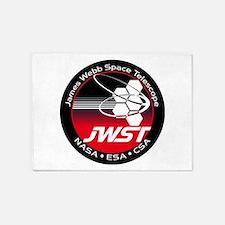 JSWT NASA Program Logo 5'x7'Area Rug