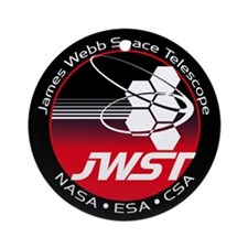 JSWT NASA Program Logo Round Ornament