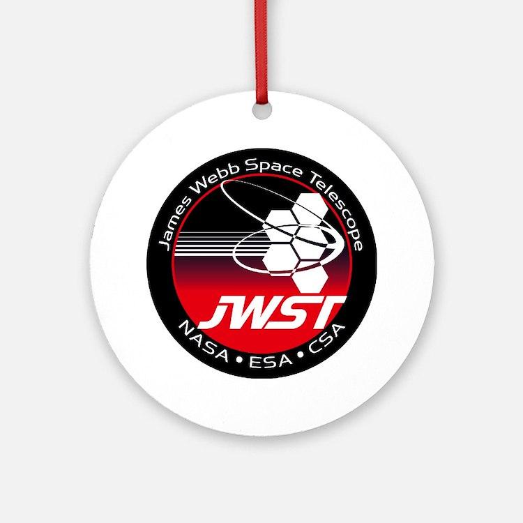 JSWT NASA Program Logo Round Ornament