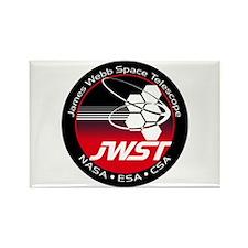 JSWT NASA Program Logo Rectangle Magnet
