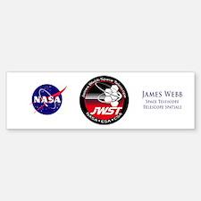 JSWT NASA Program Logo Bumper Bumper Sticker