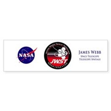JSWT NASA Program Logo Bumper Sticker