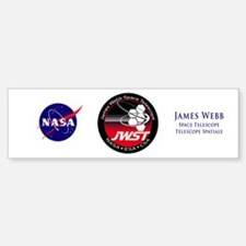 JSWT NASA Program Logo Sticker (Bumper)