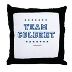 Team Colbert Throw Pillow