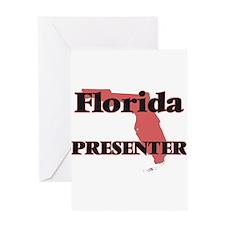 Florida Presenter Greeting Cards