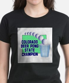 Colorado Beer Pong State Cham Tee