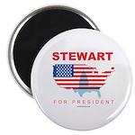 Stewart for President Magnet