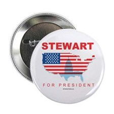"Stewart for President 2.25"" Button (10 pack)"