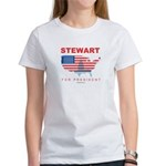 Stewart for President Women's T-Shirt