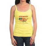 Stewart for President Jr. Spaghetti Tank