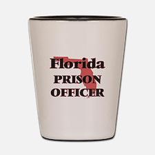 Florida Prison Officer Shot Glass