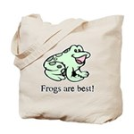 Cute Frogs are Best Love Frog Tote Bag