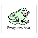 Cute Frogs are Best Love Frog Small Poster