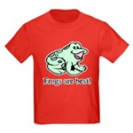 Cute Frogs are Best Love Frog Kids Dark T-Shirt