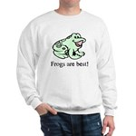 Cute Frogs are Best Love Frog Sweatshirt