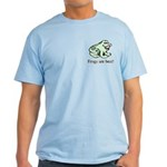 Cute Frogs are Best Love Frog Light T-Shirt