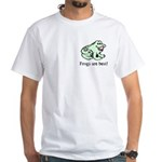 Cute Frogs are Best Love Frog White T-Shirt