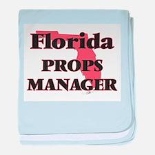 Florida Props Manager baby blanket