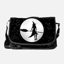 creepy witch Messenger Bag