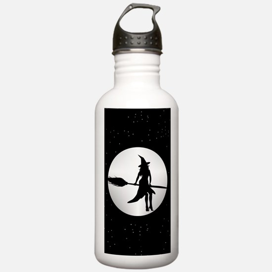 creepy witch Water Bottle