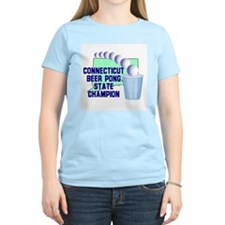 Connecticut Beer Pong State C T-Shirt
