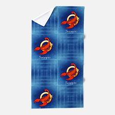 scorpio horoscope Beach Towel