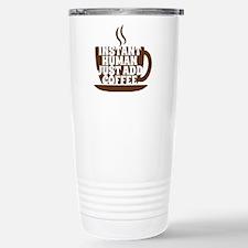 Unique Just text Travel Mug