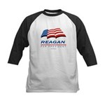 Support Reagan for President Kids Baseball Jersey