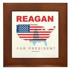 2008 Election Candidates Framed Tile