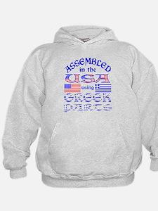 USA / Greek Part Sweatshirt