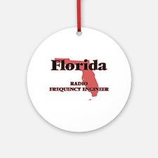 Florida Radio Frequency Engineer Round Ornament