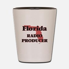 Florida Radio Producer Shot Glass