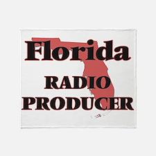 Florida Radio Producer Throw Blanket