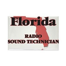 Florida Radio Sound Technician Magnets