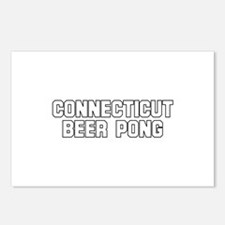 Connecticut Beer Pong Postcards (Package of 8)