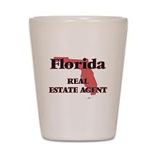Florida Real Estate Agent Shot Glass