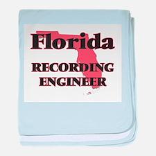 Florida Recording Engineer baby blanket