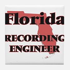 Florida Recording Engineer Tile Coaster