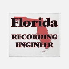 Florida Recording Engineer Throw Blanket