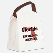 Florida Recording Engineer Canvas Lunch Bag