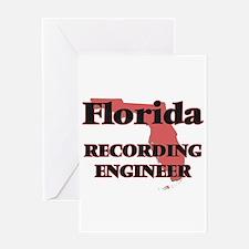Florida Recording Engineer Greeting Cards