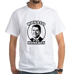 Ronald Reagan is my homeboy Shirt