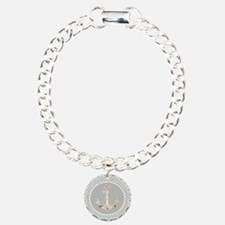 grey geometric pattern b Bracelet